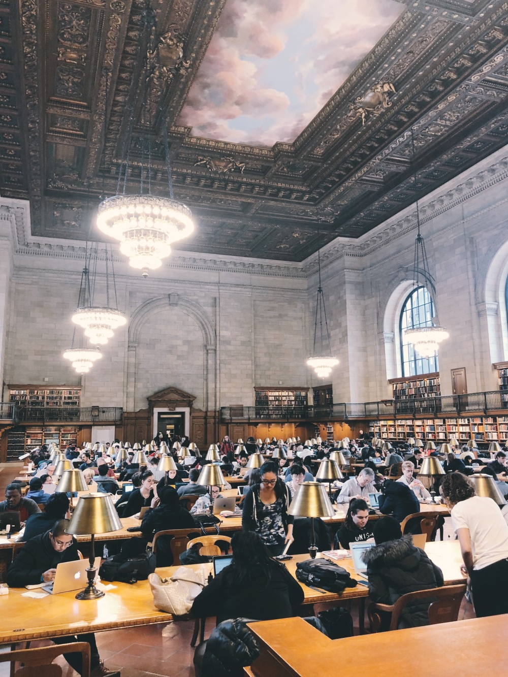 Rose Reading Room, NYPL