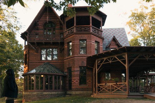 Mark Twain House. Hartford, CT.