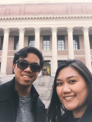 Full On Tourist Mode at Harvard.