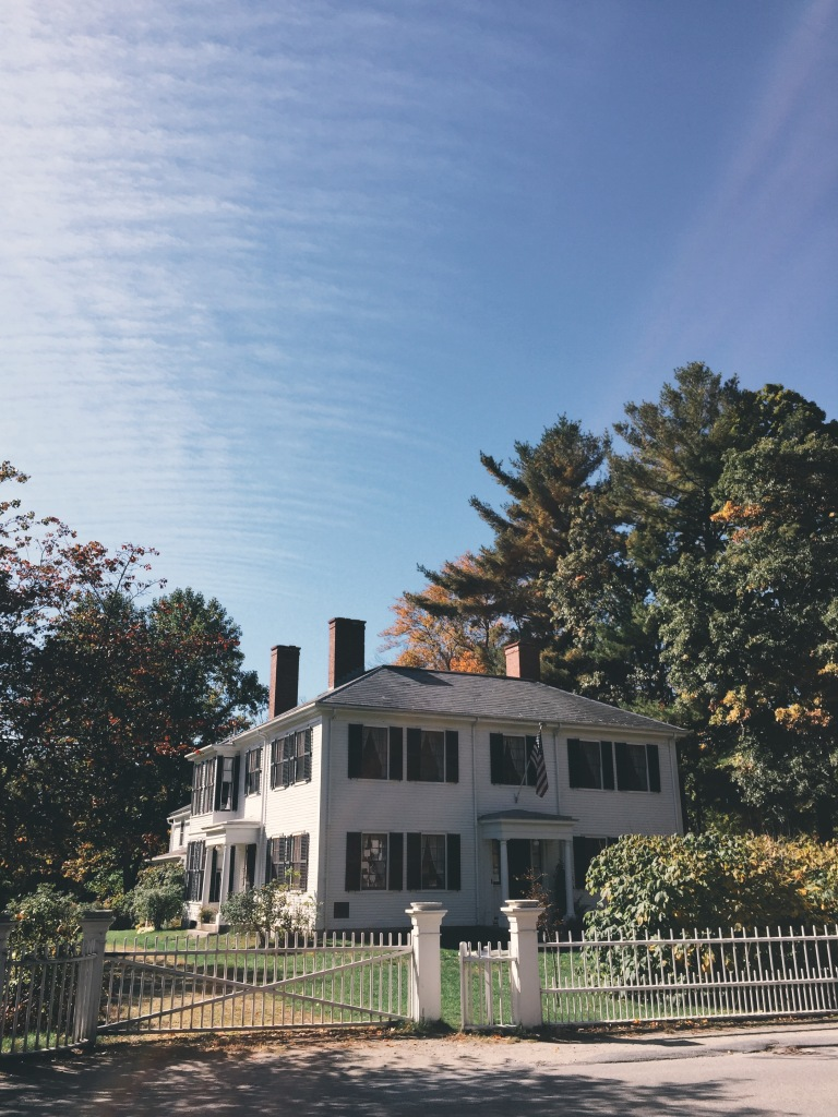 Ralph Waldo Emerson House. Concord, MA.